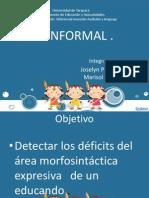 Test Informal Morfosintactico