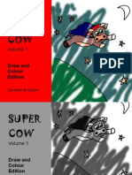 Supercow Colouring and Drawing Edition
