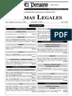 Ley de Ambulancias RM 343-2005 MINSA 15 MAYO 2005 Pag 292571