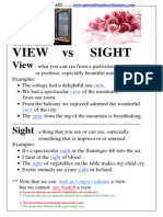 View vs Sight.doc