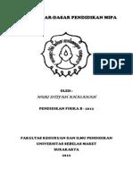 PR DaspenMIPA Nuri Istifah Khasanah B K2312055