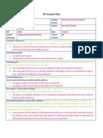 ict lesson plan shift keys