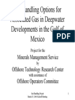 BSEE Gas Handling Option for Producing Associated Gas From Deep Water in GOM