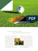 Imagebroschüre Golfclub Neuhof