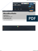 Woodbox radio