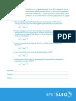 Cuestionario Carta