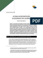As ONGs Na Reconstrução Da Sociedade Civil No Brasil
