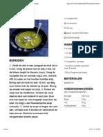 Recept - Courgettesoep - Allerhande - Albert Heijn