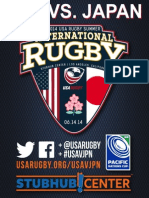 USAvJPN Official Program