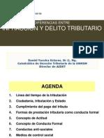 Diferencias Entre Infraccion y Delito Tributario - Daniel Yacolca