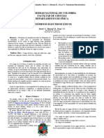 informe 1 Electrostatica