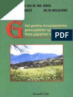 Ghid Recunoastere Specii Din Flora Pajistilor Montane
