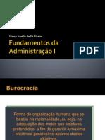 Burocracia e Departamentalização_atual