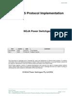 Modbus Protocol Implementation NOJA-508