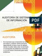 Auditoría de Sistemas de Información Presentación