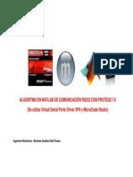 Matlab y Comunicacion Rs232 Con Proteus