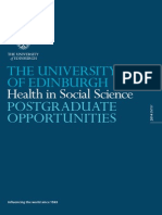 Pg Health Social Science 2014