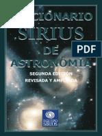 Diccionario Sirius de Astronomia
