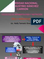 ETICA y Deontología2013