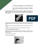 Cómo Sujetar Las Mallas y Los Plásticos a Una Estructura de Concreto