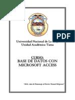 Curso Base de Datos Con Microsoft Access