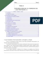 TEMA 4 Las Normas Convencionales El Derecho de Los Tratados (I)