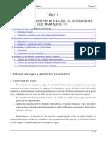 TEMA 5 Las Normas Convenicionales El Derecho de Los Tratados (II)
