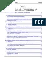 TEMA 8 La Subjetividadinternacional Las Organizaciones Internacionales