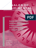 Base de Datos de Instrumentos Psicologicos y de Salud Mental Perú