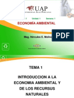 1 Introducción a La Economía Ambiental