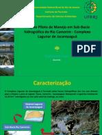 Projeto Piloto de Manejo_ Trabalho de Bacias