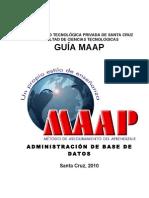 Guia MAAP Administración de Base de Datos