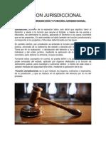 FUNCION JURISDICCIONAL 2