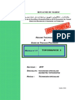 M11- Topographie 2-Approfondissement BTP-TSGT