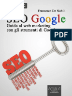 SEO Google. Guida Al Web Marketing Con g - De Nobili, Francesco