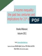 Branko Milanovic - Global Income Inequality