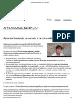 Aprendizaje-servicio _ Roser Batlle