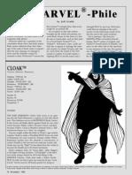 Cloak, Dagger, Drug-usage Information