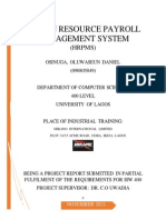 Human Resource Payroll Management System