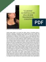 Biografía de Claudia Ancapan Quilape