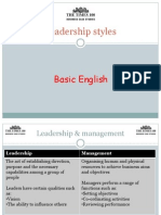 Leadership Styles Times 100 (1)