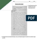 zimmerman note analysis ws