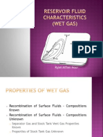 Chapter 5 (Reservoir Fluid Characteristics for Wet Gas)