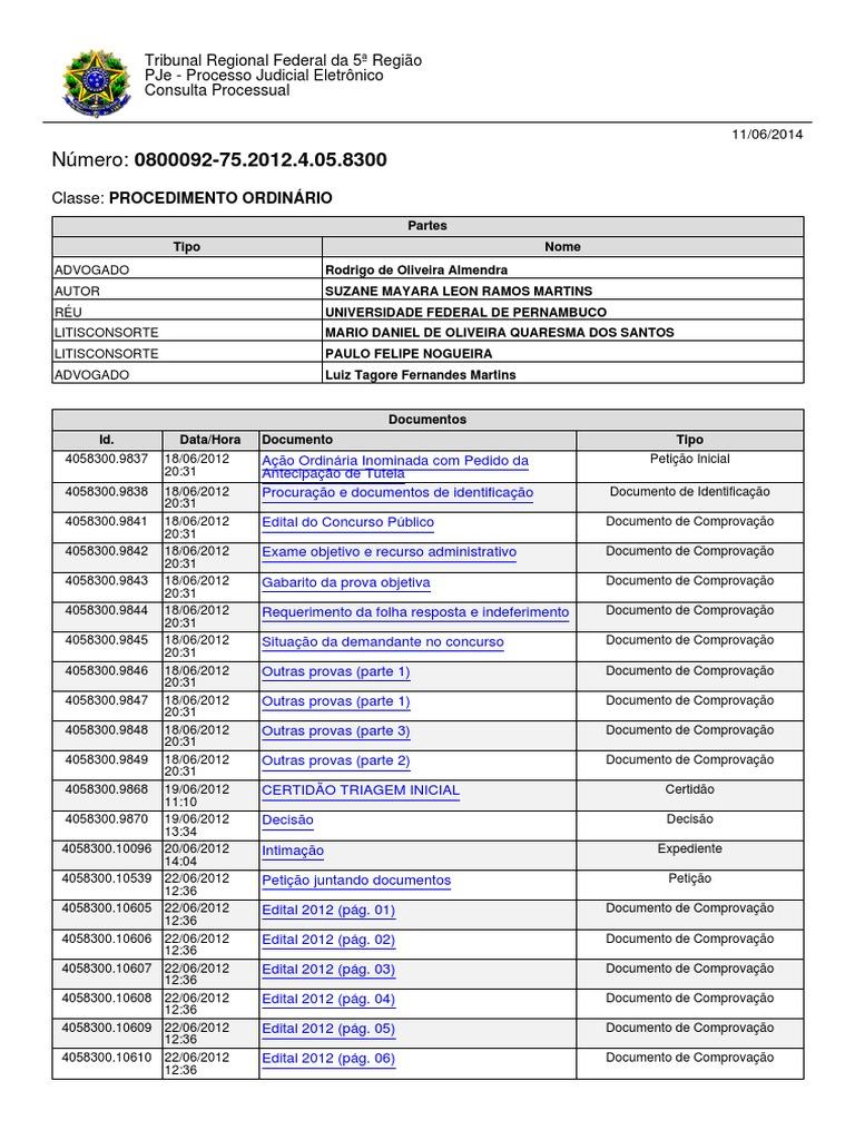 f74011f2c82da Ação Ordinaria Inominada Com Pedido de Antecipação de Tutela Rodrigo  Almendra Assunto Fora Do Edital