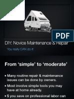 DIY Repair and Maintenance