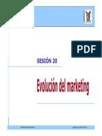 20 - Evolucion Del Marketing