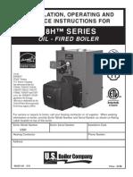 Burnham Boiler v8h_manual