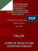 Taller Redacta Esc Perfec
