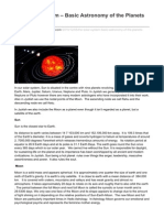 Venoastrology.wordpress.com-The Solar System Basic Astronomy of the Planets Used InJyotish