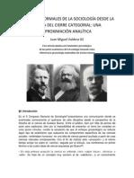Juan Valdera - Las Partes Formales de La Sociología Desde La Teoría Del Cierre Categorial